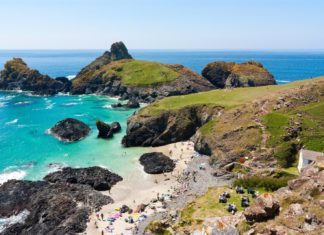 About Cornwall - Kynance Cove