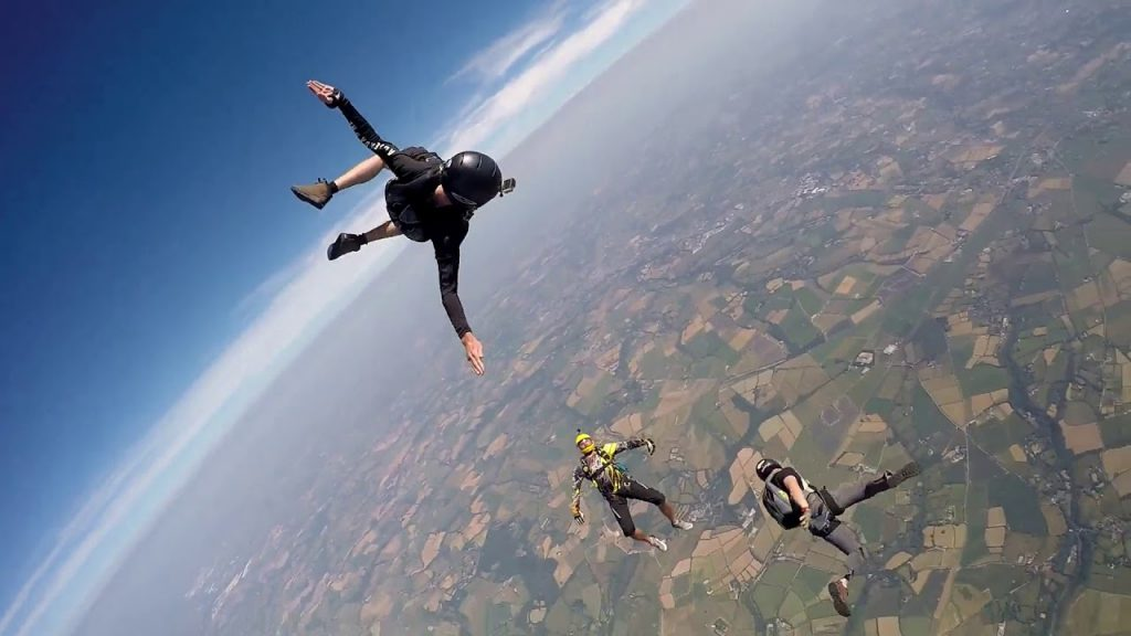 Sky Diving – Perranporth