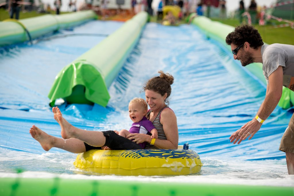 Giant Slip and Slide
